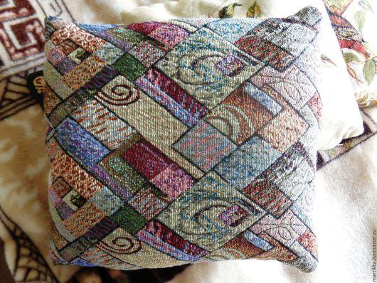 Текстиль, ковры ручной работы. Ярмарка Мастеров - ручная работа. Купить Диванные подушки с гречневой лузгой. Handmade. Комбинированный, гречка