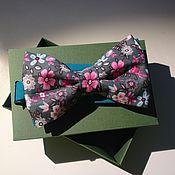 Аксессуары ручной работы. Ярмарка Мастеров - ручная работа галстук-бабочка. Handmade.