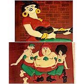 Сувениры и подарки ручной работы. Ярмарка Мастеров - ручная работа Советские мультфильмы- 2. Handmade.