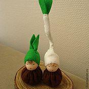 Куклы и игрушки ручной работы. Ярмарка Мастеров - ручная работа Луковички - вальдорфские куколки. Handmade.