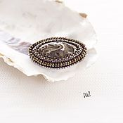 Brooches handmade. Livemaster - original item Brooch beaded