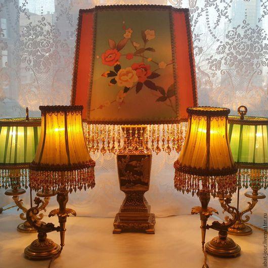 Освещение ручной работы. Ярмарка Мастеров - ручная работа. Купить антикварные лампы. Handmade. Антикварные лампы, ручная работа, белый