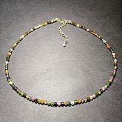 Украшения handmade. Livemaster - original item Necklace of natural tourmaline. Handmade.