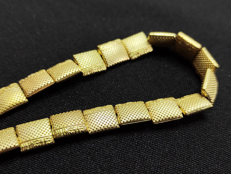 Бусины Металл золото плоский квадрат 10х9мм, Бусины, Брянск,  Фото №1