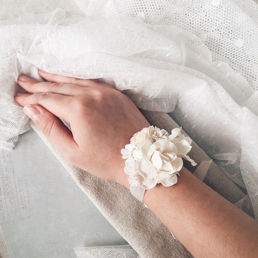 Браслеты ручной работы. Ярмарка Мастеров - ручная работа. Купить Браслет для подружки невесты - Fleurs dlicates. Handmade. браслет подруге