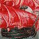 Пейзаж ручной работы. Алые паруса. Маргарита Павлухина (ivgalis). Интернет-магазин Ярмарка Мастеров. Романтика, коралловый, алые паруса