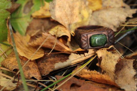 """Кольца ручной работы. Ярмарка Мастеров - ручная работа. Купить Кольцо """"Малых лесных духов' Vs2 из палисандра. Handmade. Шаманизм"""