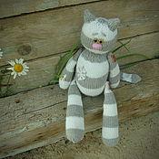 Куклы и игрушки ручной работы. Ярмарка Мастеров - ручная работа Кот Иннокентий. Handmade.
