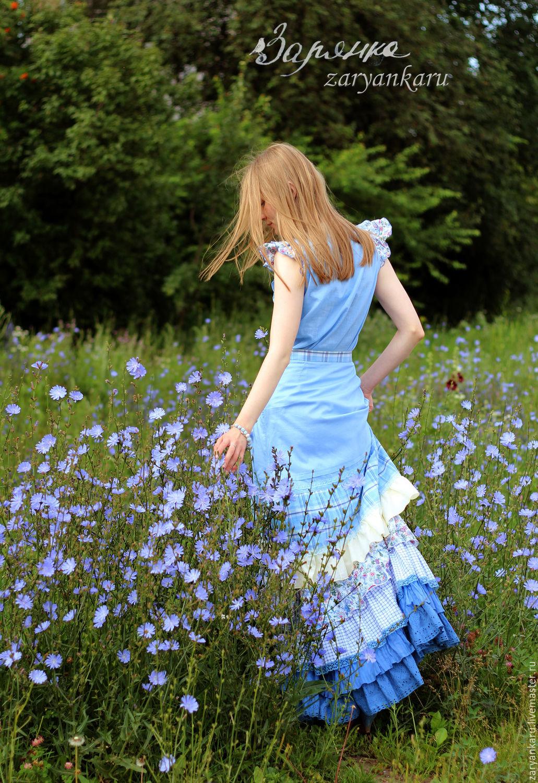 Голубая блузка доставка