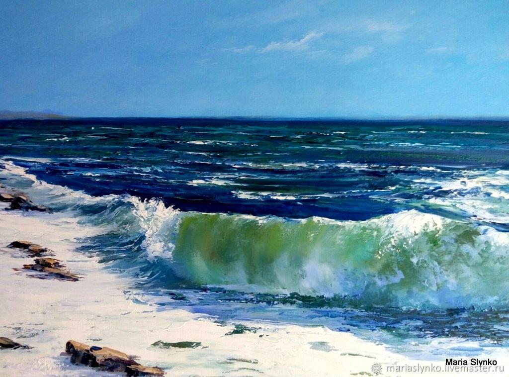 Seascape. Living wave