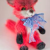 Stuffed Toys handmade. Livemaster - original item Fox. Handmade.