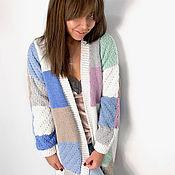 Одежда handmade. Livemaster - original item Stylish long cardigan for women. Handmade.