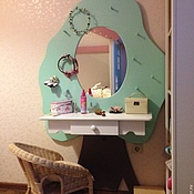 Для дома и интерьера handmade. Livemaster - original item 10.  Childrens table with mirror