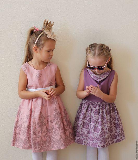 Одежда для девочек, ручной работы. Ярмарка Мастеров - ручная работа. Купить Нарядное платье для девочки (новогоднее) РОЗОВЫЕ ВЕНЗЕЛЯ!. Handmade.