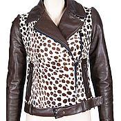 Одежда ручной работы. Ярмарка Мастеров - ручная работа Куртка-косуха из натурального меха и кожи. Handmade.