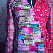 Одежда ручной работы. Ярмарка Мастеров - ручная работа кофта-пиджак ШАГАЛ  (шаль в подарок)!!!. Handmade.