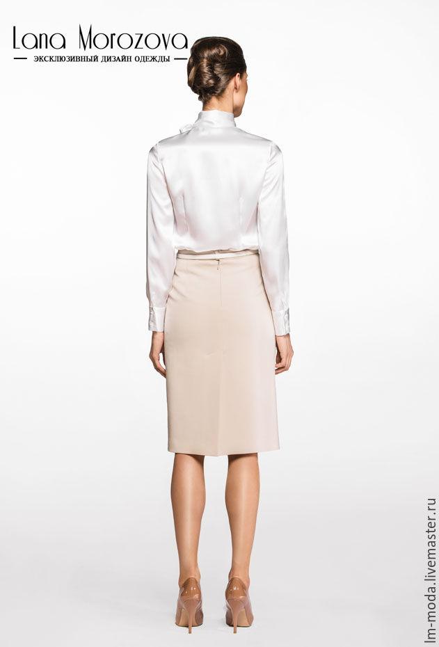 Белая Шелковая Блузка Купить