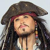 Куклы и игрушки ручной работы. Ярмарка Мастеров - ручная работа Портретная кукла. Капитан Джек-Воробей (Captain Jack Sparrow). Handmade.