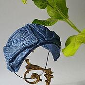 Аксессуары ручной работы. Ярмарка Мастеров - ручная работа соломенная шляпка в ретро стиле. Handmade.