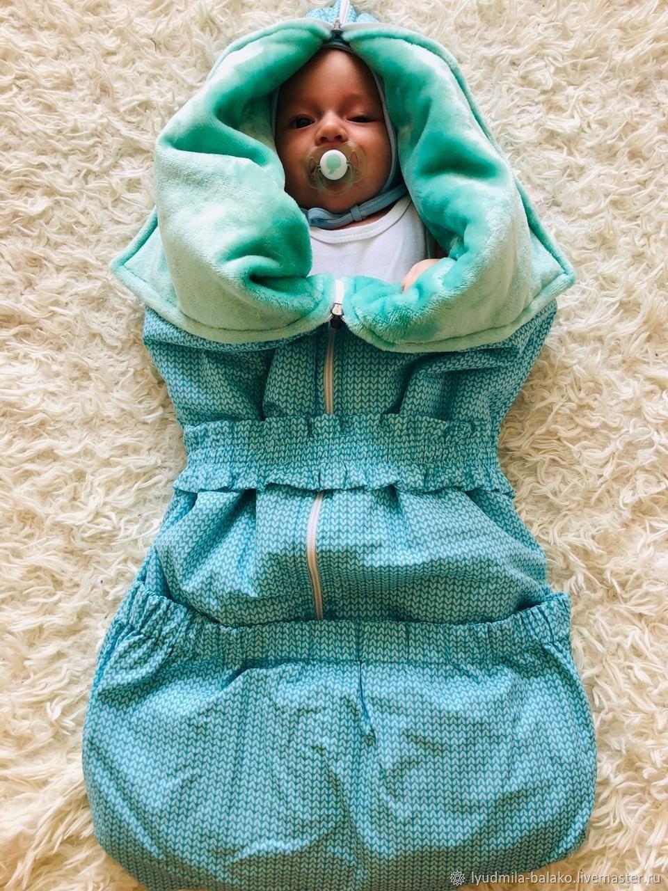 Конверт одеяло плед трансформер для новорожденных, Конверты, Гурьевск, Фото №1