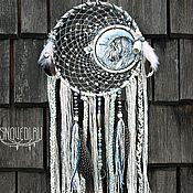 """Фен-шуй и эзотерика ручной работы. Ярмарка Мастеров - ручная работа Ловец снов """"Unicorn calls winter"""". Handmade."""