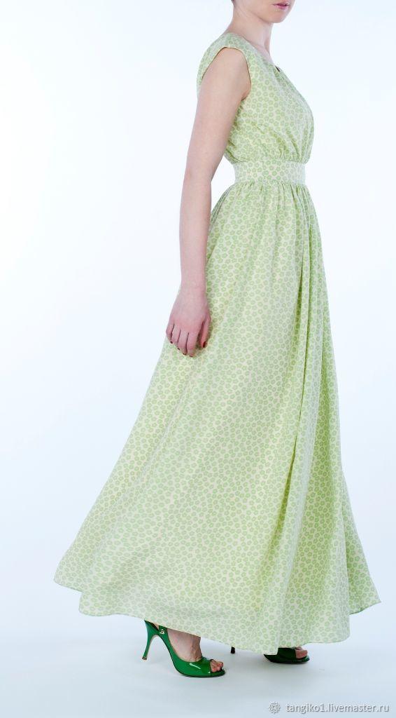Шелковое платье в пол на выпускной свадебное PRADO VERDE, Платья, Москва,  Фото №1