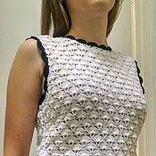 Одежда ручной работы. Ярмарка Мастеров - ручная работа костюм летний вязаный. Handmade.