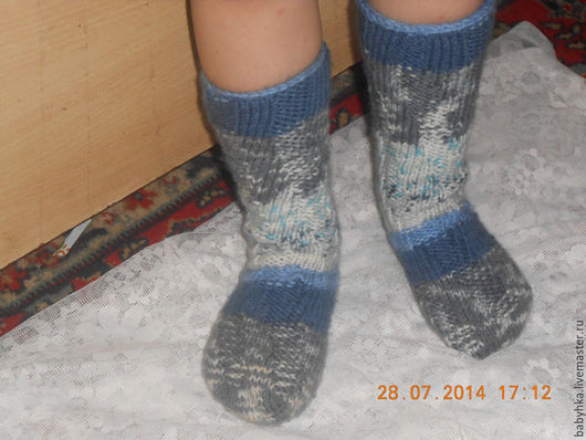 Носки, Чулки ручной работы. Ярмарка Мастеров - ручная работа. Купить Спиральные носки.. Handmade. Комбинированный, свяжу на заказ