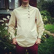 Одежда ручной работы. Ярмарка Мастеров - ручная работа Мужская рубаха. Handmade.