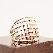 "Украшения handmade. Livemaster - original item Silver ring  ""Web"". Handmade."
