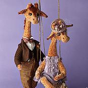 Куклы и игрушки ручной работы. Ярмарка Мастеров - ручная работа Мариус и Жозефина. Handmade.