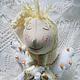 Коллекционные куклы ручной работы. Ярмарка Мастеров - ручная работа. Купить Фея сна Соня Сонькина. Handmade. Белый, соня