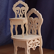 Материалы для творчества handmade. Livemaster - original item Doll high chair.977.. Handmade.