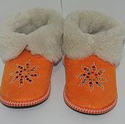 Обувь ручной работы handmade. Livemaster - original item Copy of Shoes made of natural sheep fur. Handmade.