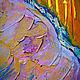 Картины цветов ручной работы. Картина , «Чувство». Mira. Ярмарка Мастеров. Картина в интерьер, мастихин