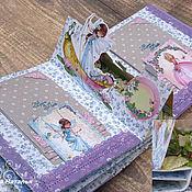 Канцелярские товары ручной работы. Ярмарка Мастеров - ручная работа Интерактивный фотоальбом для девочки принцессы. Handmade.