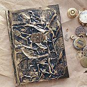 Канцелярские товары handmade. Livemaster - original item Notepad with keyhole. Handmade.