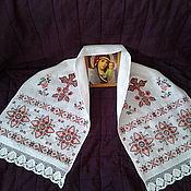 Свадебный салон ручной работы. Ярмарка Мастеров - ручная работа Рушник на икону (Божник). Handmade.