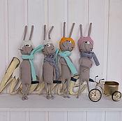 Для дома и интерьера ручной работы. Ярмарка Мастеров - ручная работа Братья Кролики. Handmade.