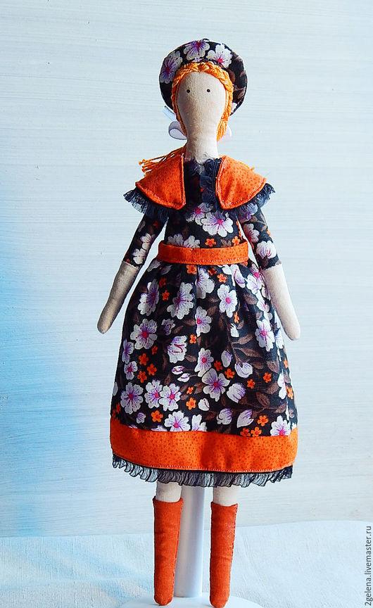 Куклы Тильды ручной работы. Ярмарка Мастеров - ручная работа. Купить кукла Карина. Handmade. Рыжий, кукла в подарок