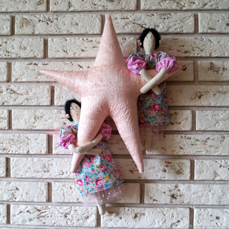 Ангелы на звезде, Куклы Тильда, Екатеринбург,  Фото №1