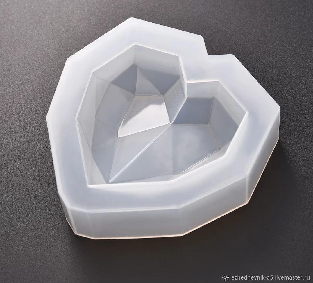 Силиконовые молды формы для смолы сердце мандарин олень звезда шар, Молды, Сочи,  Фото №1