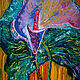 Картины цветов ручной работы. Картина , «Чувство». Mira. Интернет-магазин Ярмарка Мастеров. Картина маслом, художник, холст на подрамнике