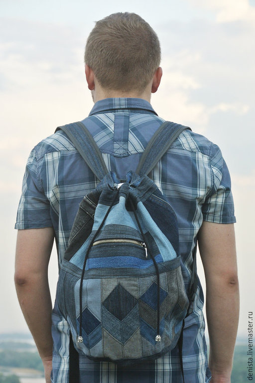 Backpack denim '3D Vision', Backpacks, Saratov,  Фото №1