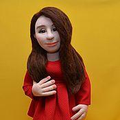 Куклы и игрушки ручной работы. Ярмарка Мастеров - ручная работа Скульптурно-текстильная кукла.. Handmade.