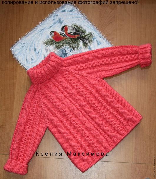 """Одежда для девочек, ручной работы. Ярмарка Мастеров - ручная работа. Купить свитер """"Великолепный"""" авт. работа. Handmade. Молочный"""