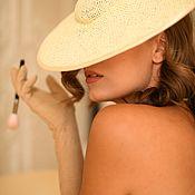Аксессуары handmade. Livemaster - original item The author`s wide-brimmed hat