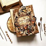 Блокноты ручной работы. Ярмарка Мастеров - ручная работа Винтажный блокнот. Handmade.
