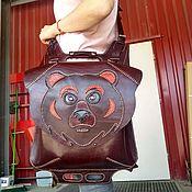 Классическая сумка ручной работы. Ярмарка Мастеров - ручная работа Сумки: Сумка-рюкзак на ремнях трансформерах. Handmade.