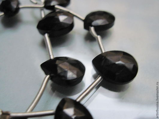 Для украшений ручной работы. Ярмарка Мастеров - ручная работа. Купить черная шпинель. Handmade. Черный, бусины, камни для украшений